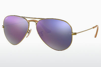 サングラス Ray-Ban AVIATOR LARGE METAL (RB3025 167/4K) - ブラウン