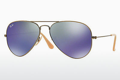 サングラス Ray-Ban AVIATOR LARGE METAL (RB3025 167/68) - ブラウン
