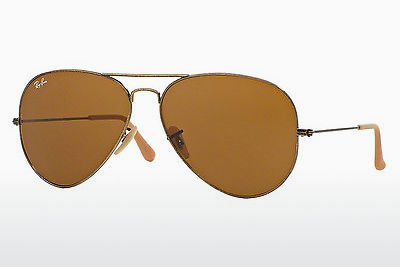 サングラス Ray-Ban AVIATOR LARGE METAL (RB3025 177/33) - ゴールド