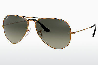 サングラス Ray-Ban AVIATOR LARGE METAL (RB3025 197/71) - ブラウン