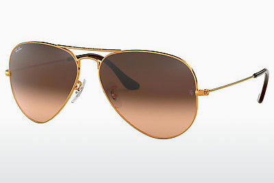 サングラス Ray-Ban AVIATOR LARGE METAL (RB3025 9001A5) - ブラウン