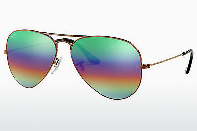 サングラス Ray-Ban AVIATOR LARGE METAL (RB3025 9018C3) - ブラウン