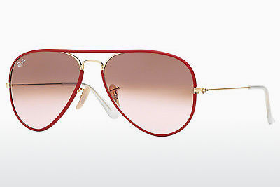 サングラス Ray-Ban AVIATOR FULL COLOR (RB3025JM 001/X3) - レッド