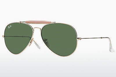 サングラス Ray-Ban OUTDOORSMAN II (RB3029 L2112) - ゴールド