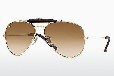サングラス Ray-Ban AVIATOR CRAFT (RB3422Q 001/51) - ゴールド