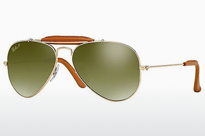 サングラス Ray-Ban AVIATOR CRAFT (RB3422Q 001/M9) - ゴールド