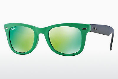 サングラス Ray-Ban FOLDING WAYFARER (RB4105 602119) - グリーン