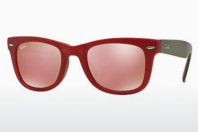サングラス Ray-Ban FOLDING WAYFARER (RB4105 6050Z2) - レッド