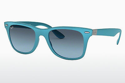 サングラス Ray-Ban WAYFARER LITEFORCE (RB4195 60848F) - ブルー, Azure