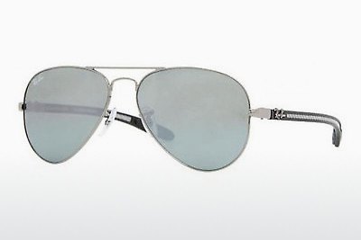 サングラス Ray-Ban AVIATOR TM CARBON FIBRE (RB8307 004/40) - シルバー