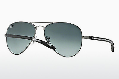 サングラス Ray-Ban AVIATOR TM CARBON FIBRE (RB8307 029/71) - グレー