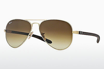サングラス Ray-Ban AVIATOR TM CARBON FIBRE (RB8307 112/85) - ゴールド