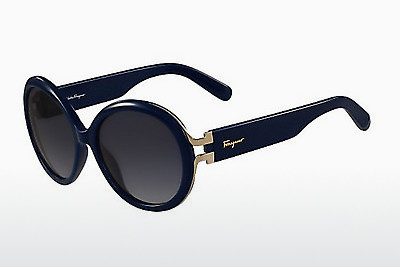 サングラス Salvatore Ferragamo SF780S 414 - ブルー