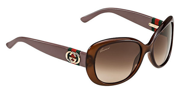 Gucci GG 3644/S 0YF/J6 BROWN SFHAZLN MAU (BROWN SF)