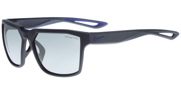 Nike NIKE BANDIT EV0917 404 MATTE OBSIDIAN/DEEP ROYAL BLUE WITH GREY W/ SILVER FLASH LENS LENS