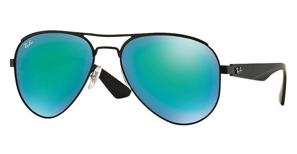 Ray-Ban RB3523 006/3R GREEN MIRROR GREENMATTE BLACK