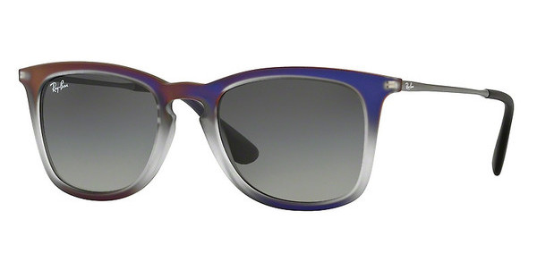 Ray-Ban RB4221 622311 GREY GRADIENT DARK GREYVIOLET SHOT ON BLACK