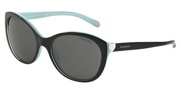 Tiffany TF4086H 81633F GREYBLACK/SHOT/BLUE