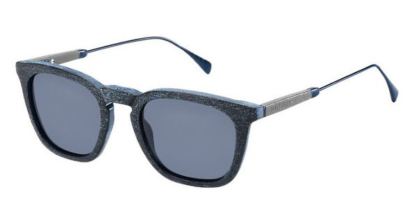 Tommy Hilfiger TH 1383/S QEV/KU BLUE AVIOBLUE PTTR (BLUE AVIO)