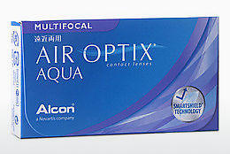 コンタクトレンズ Alcon AIR OPTIX AQUA MULTIFOCAL (AIR OPTIX AQUA MULTIFOCAL AOM6H)