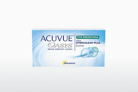 コンタクトレンズ Johnson & Johnson ACUVUE OASYS for PRESBYOPIA (ACUVUE OASYS for PRESBYOPIA AL-6P-REV)