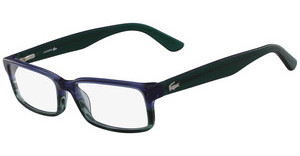 Lacoste L2685 421 STRIPED BLUE GREEN