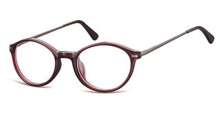 Sunoptic AC40 D Dark Red/Matt Gunmetal