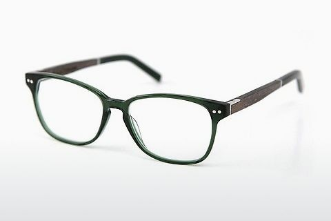 デザイナーズ眼鏡 Wood Fellas Sendling Premium (10937 grey oak/crystal green)