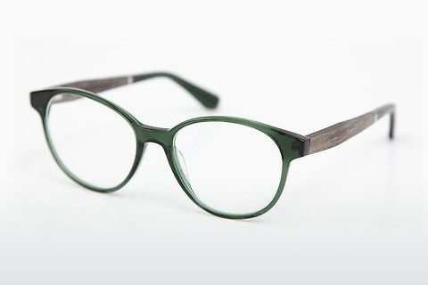 デザイナーズ眼鏡 Wood Fellas Haldenwang (10972 grey oak/crystal green)