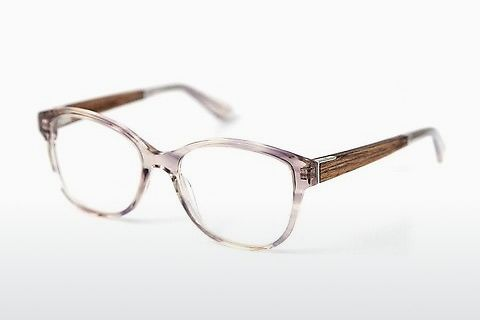 デザイナーズ眼鏡 Wood Fellas Rosenberg Premium (10993 macassar/smoked grey)