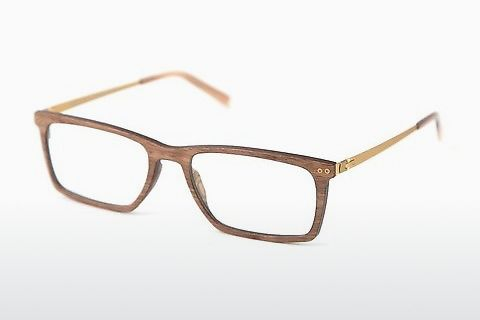 デザイナーズ眼鏡 Wood Fellas Maximilian Air (10996 walnut)