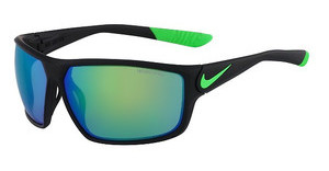 Nike NIKE IGNITION R EV0867 003 MATTE BLACK/POISON GREEN WITH GREY W/ML GREEN FLASH  LENS