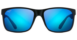 Maui Jim Red Sands B432-2M Blue HawaiiMatte Black