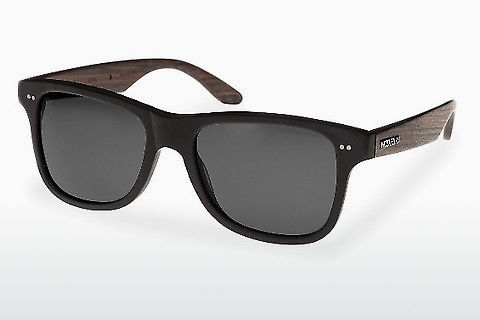 サングラス Wood Fellas Lehel (10757 rosewood/black/grey)