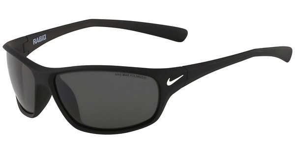 Nike   RABID P EV0604 095 MATTE BLACK WITH GREY Polarized LENS